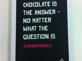 Johnny Doodle – Introductiepakket chocola
